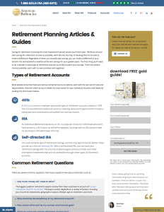 American Bullion - Retirement Page