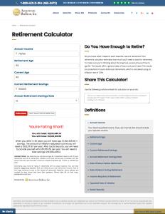 American Bullion - Retirement Calculator