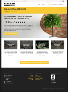 BugMan NJ Commercial Services Page