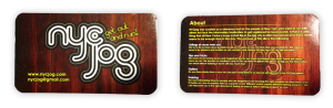 NYCjog Business Card