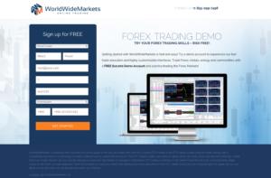 WorldWideMarkets AdWords Landing Page