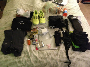 Race gear, ready to go!