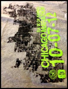 Niketown 2012 Marathon T-shirt.