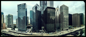 Chicago from my hotel room.
