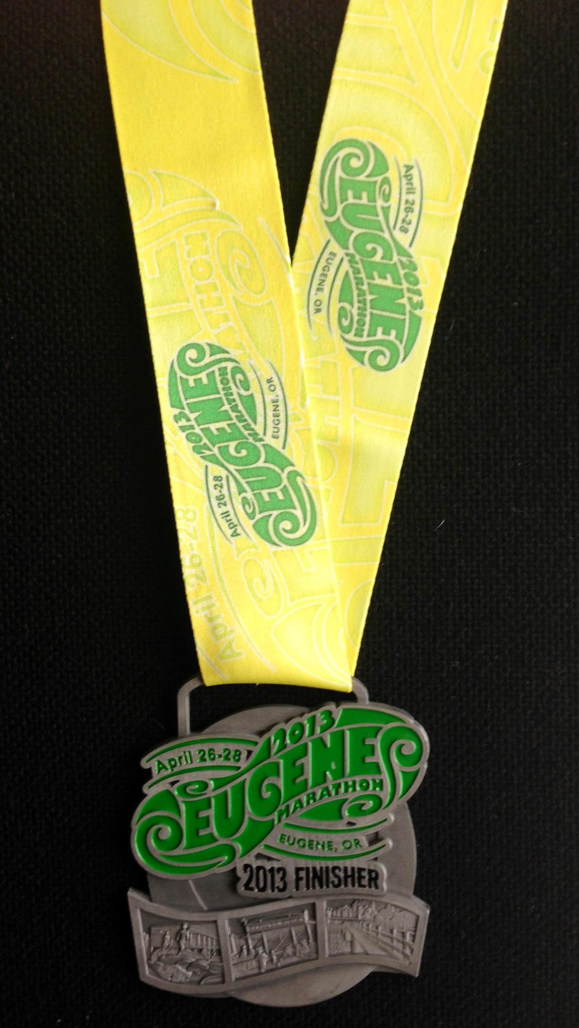 Jonathan Farrell – 2013-Eugene-Marathon-Finisher-Medal