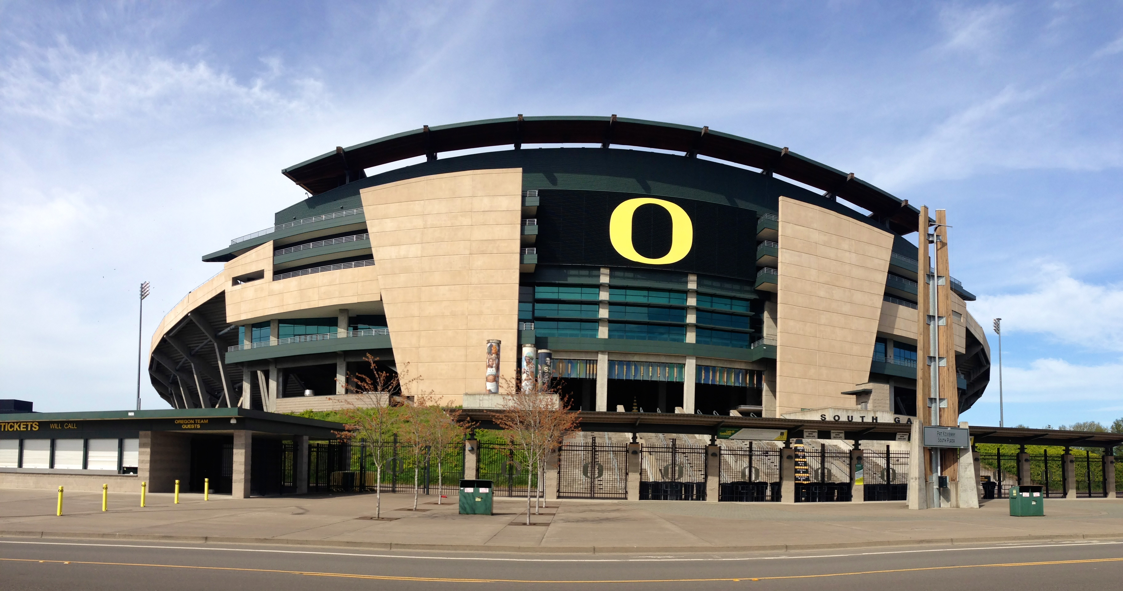 autzen stadium amazing college stadiums
