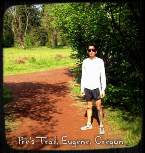 Running on Pre's Trail