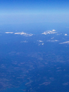 Crater Lake from the plane