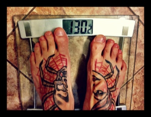 Race day weight