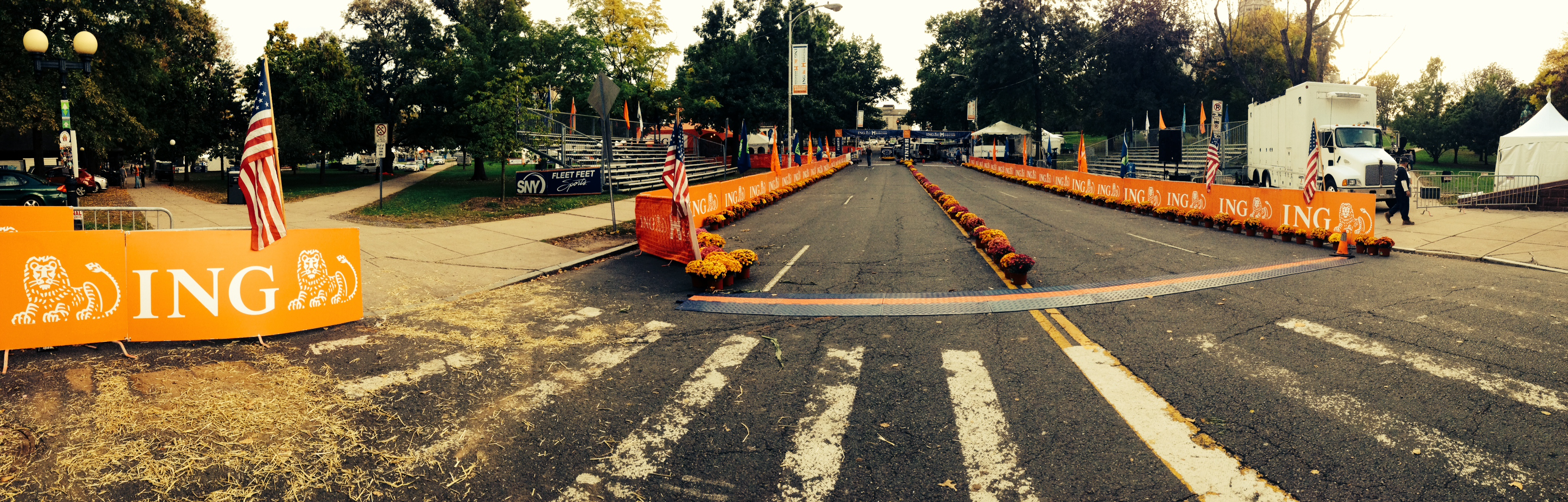 Hartford Marathon Finish Line