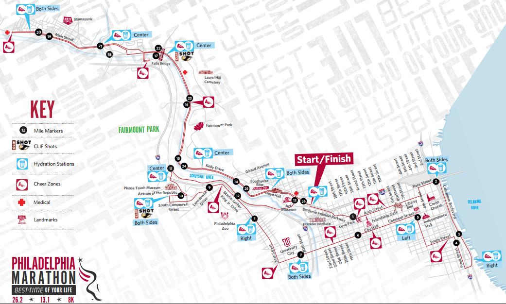 Philadelphia Marathon Map Jonathan Farrell – Philadelphia Marathon