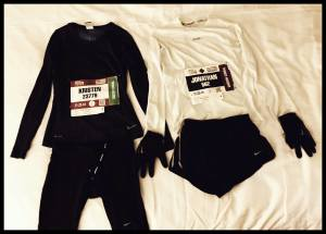 Race outfits, ready to go!