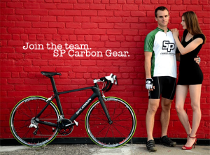 Online ad campaign designed for SPCarbon Bicycles.