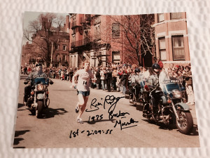 Signed Bill Rodgers photo