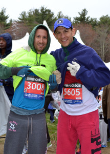 With Gary at the start