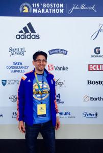 Hook Half Marathon at 2015 Boston Marathon