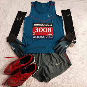 2015 Boston Marathon Race Kit