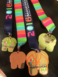 2016 Finisher's Medals