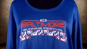 2016 Baltimore Marathon Race Shirt